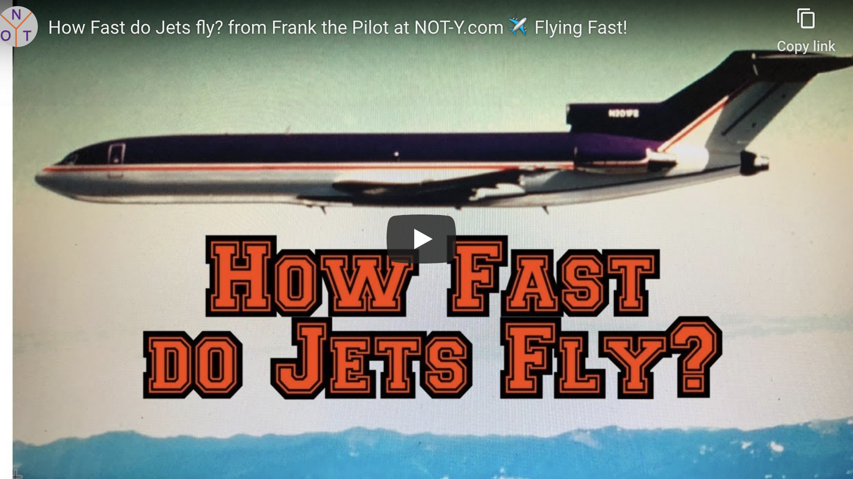 HOW FAST DO JETS FLY?