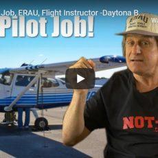 First Pilot Job, ERAU, Flight Instructor -Daytona Beach: NOT-Y
