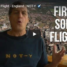 First Solo Flight – England : NOT-Y