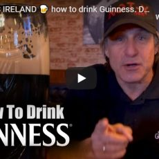 GUINNESS IRELAND how to drink Guinness. Drinking Guinness may help get you to heaven. Beer Joke