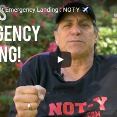 Young Pilot Emergency Landing: NOT-Y