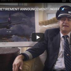 PILOT RETIREMENT ANNOUNCEMENT : NOT-Y