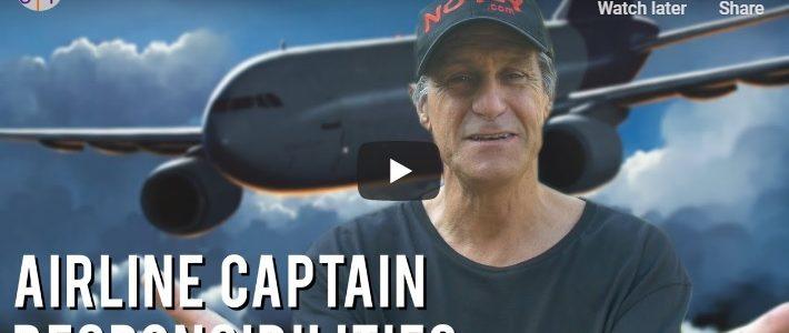 Airline Captain Pilot's Responsibility